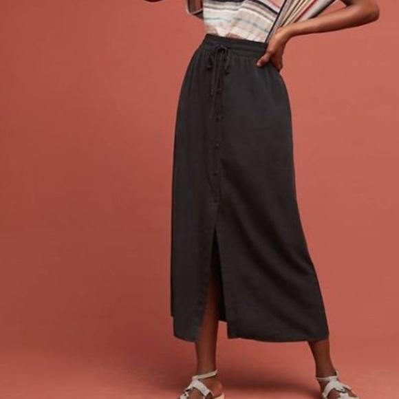 6fa7c1b94c Anthropologie Dresses & Skirts - Cloth & Stone black skirt sz S 100% tencel
